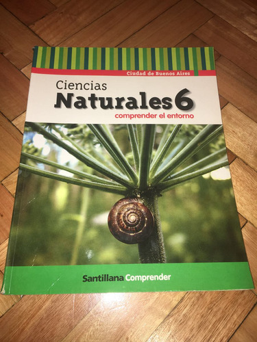 libro ciencias naturales 6 editorial santillana