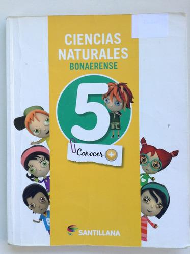 libro ciencias naturales bonaerense 5 editorial santillana