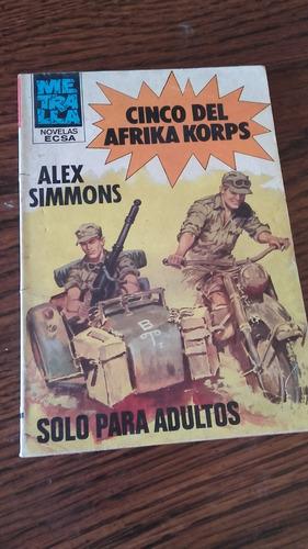 libro cinco del afrika korps