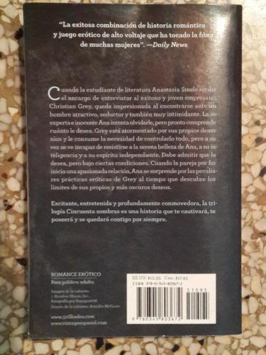 libro cincuenta sombras de grey de el james