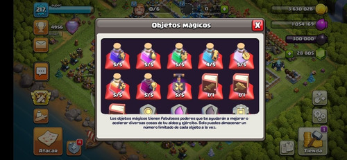 libro clash of clans th13 postal