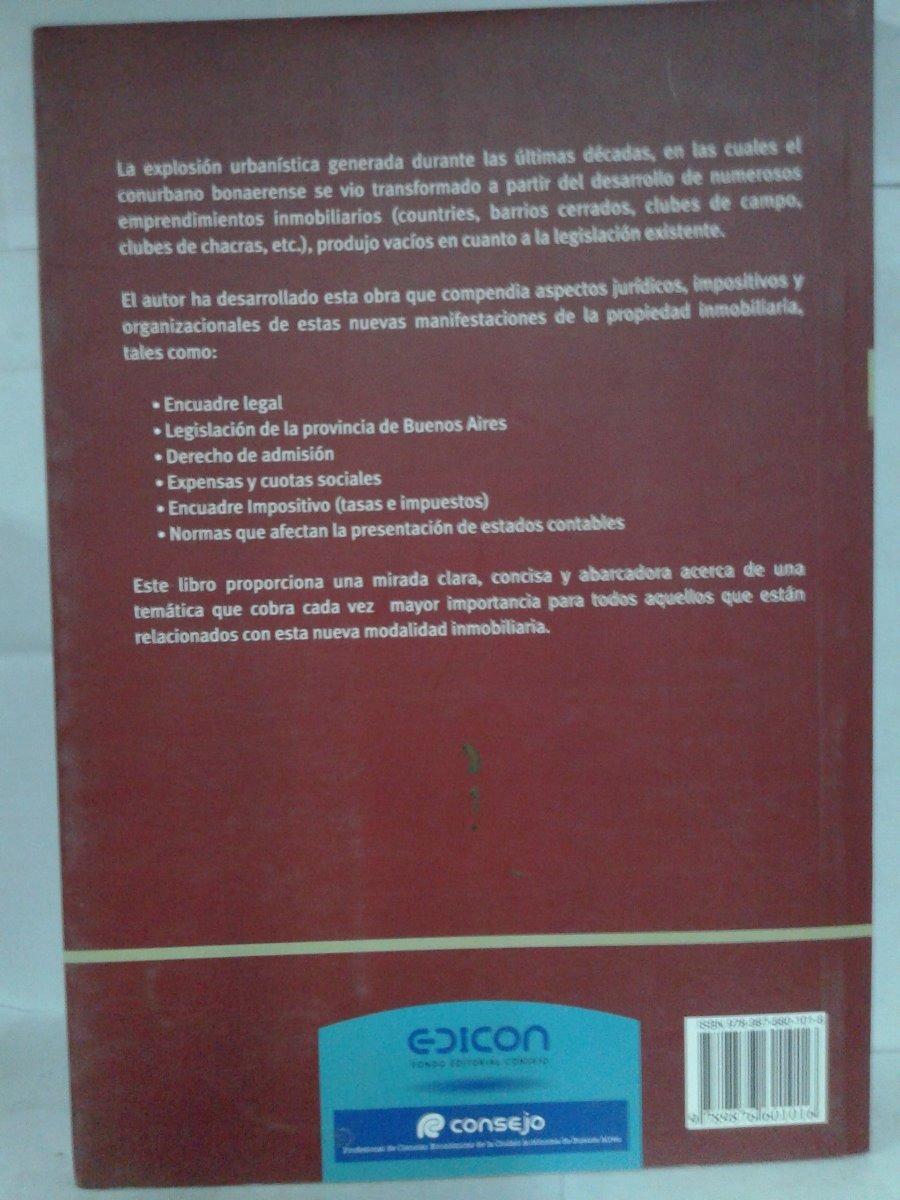 Libro Clubes De Campo Y Barrios Cerrados- Pablo M. Corna - $ 280,00 ...