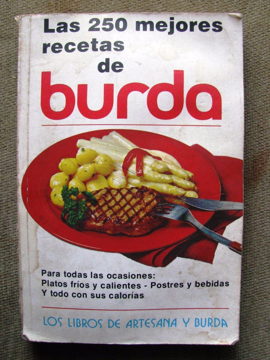 Libro Cocina   Libro Cocina Burda Con 250 Recetas En Estado Regular 220 00