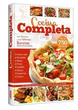 libro cocina completa mas de 750 recetas - grupo clasa