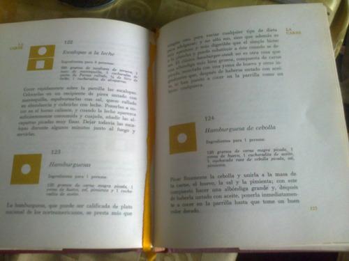 libro cocina: recetario dietético