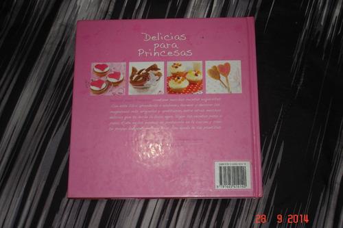 libro cocina recetas dulces para princesas edicion parragón