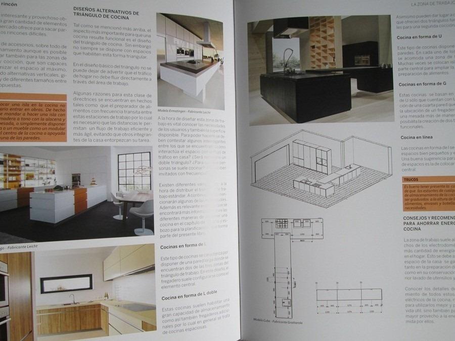 Libro Cocinas Novedades Y Consejos Diseño De Interiores - S/ 90,00 ...