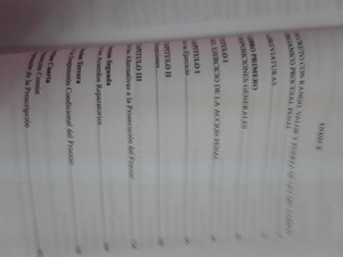 libro codigo organico procesal penal de juan ruiz blanco