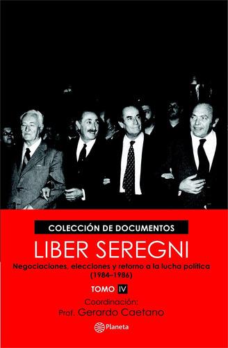 libro: colección liber seregni  tomo iv   ( g caetano )