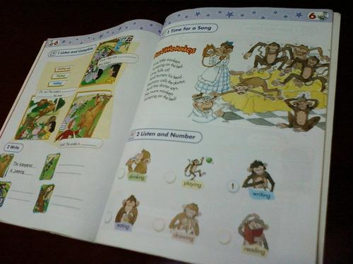 libro colegio escuela primaria inglés starlight niños chicos