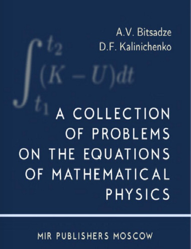 libro, collection problems on equations of math physics/ mir