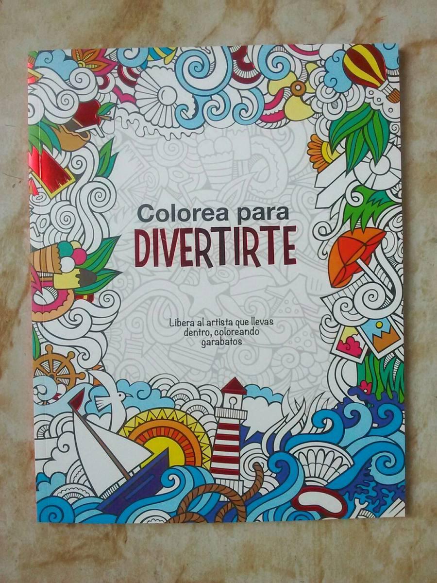 Libro Colorea Para Divertirte Hojas Desprendibles Mandalas - $ 82.00 ...