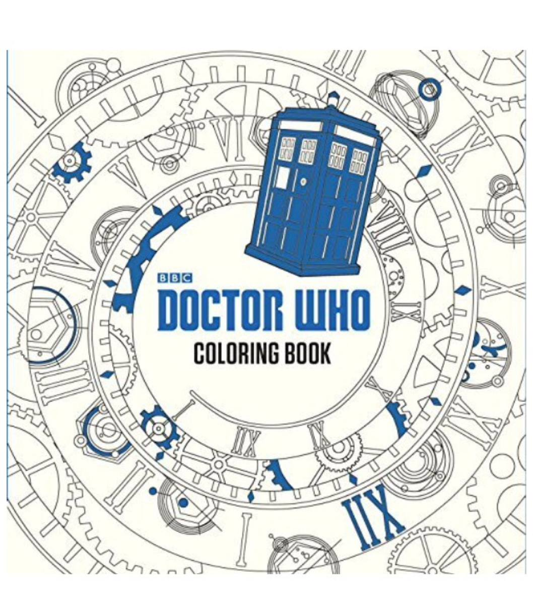 Libro Colorear Doctor Who Original - S/ 59,00 en Mercado Libre