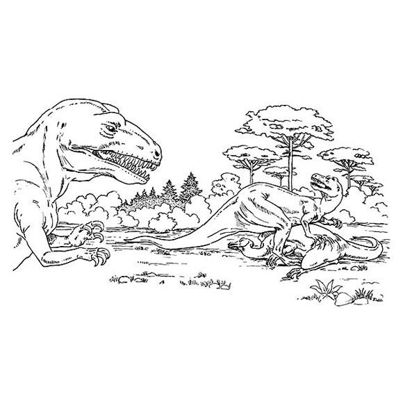 Libro Colorear Jurassic World Park Dinosaurios - $ 7.00 en Mercado Libre