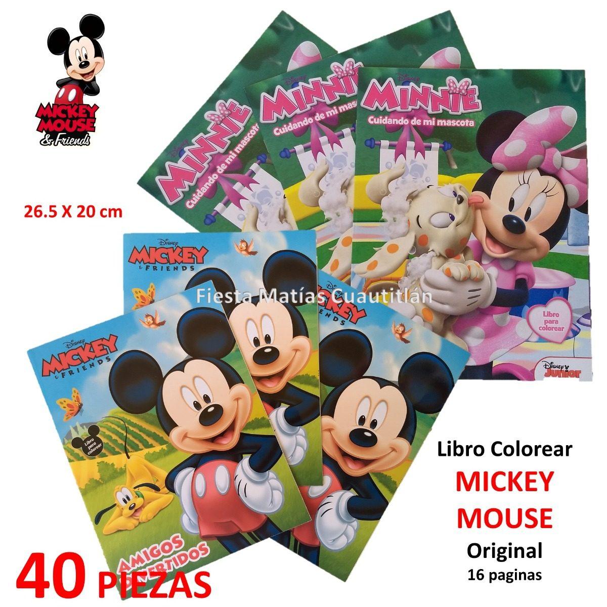Famoso Mickey Acción De Gracias Para Colorear Imagen - Dibujos Para ...