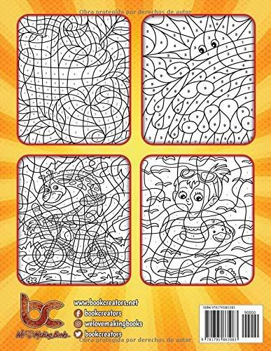 Libro Colorear Por Numeros Libro De Actividades Para 79900