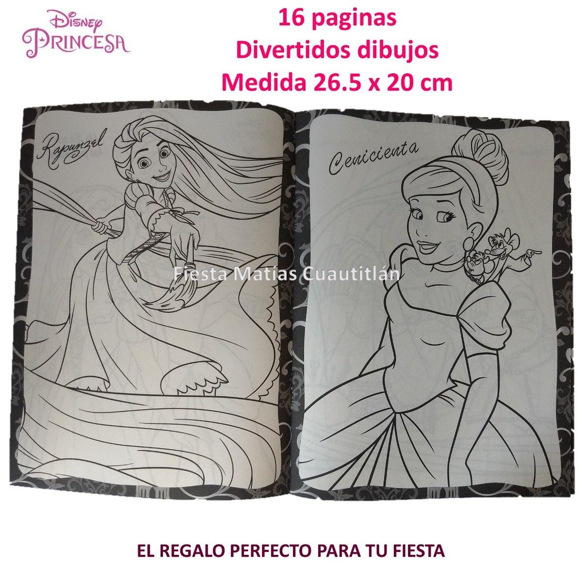 Colorear Princesas Disney Dibujos Colorear
