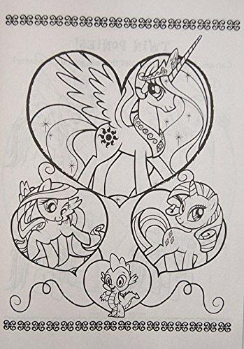 Libro Colorear Y Actividades Mi Pequeño Pony Jumbo Con Crayo ...