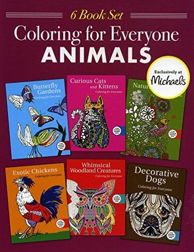 Libro Coloring Book For Everyone. Animals Libro Colorear Adu ...