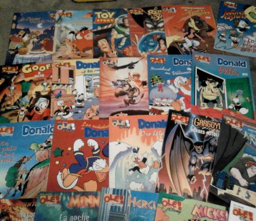 libro comic disney ole