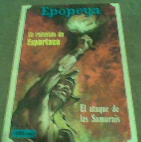 libro comic ii,epopeya