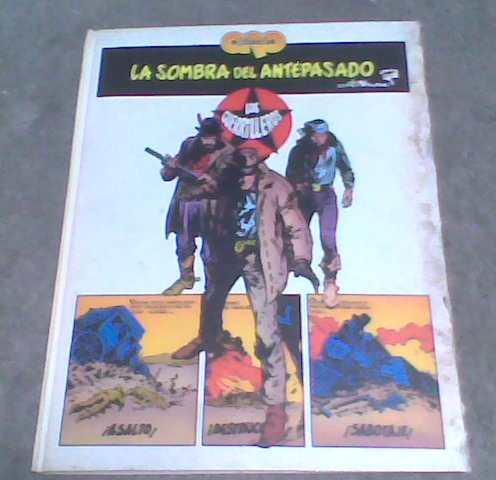 libro comic la sombra del antepasado