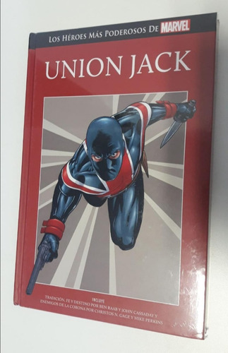 libro, comic, marvel, union jack - salvat- tapa roja nº 73