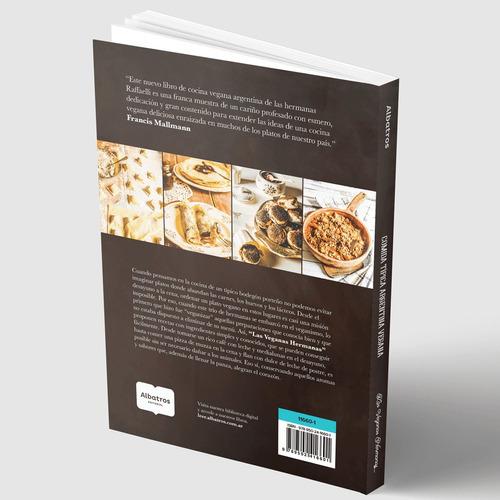 libro  comida típica argentina vegana  + bolsa de tela
