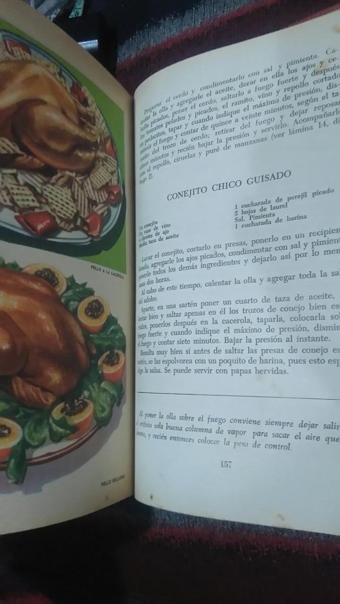 Libro Cómo Cocina Doña Petrona Con Ollas A Presión 1 Edición - $ 549 ...