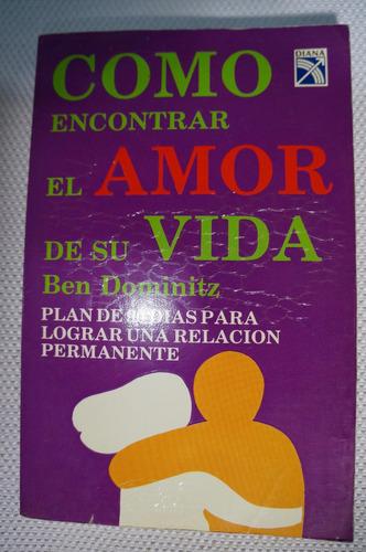libro como encontrar el amor de su vida