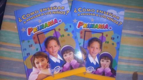 libro como enseñar a pensar a los niños