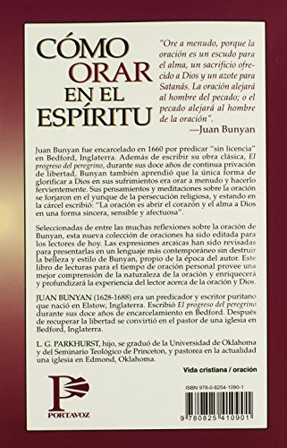 libro como orar en el espiritu / how to pray in the spirit