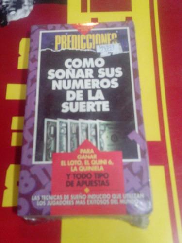 libro - como soñar los numeros de la suerte - predicciones