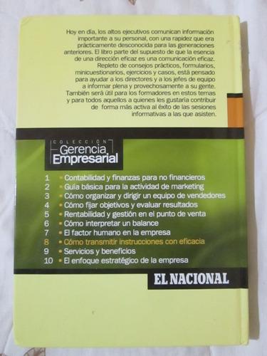 libro cómo transmitir instrucciones con eficacia colin clark