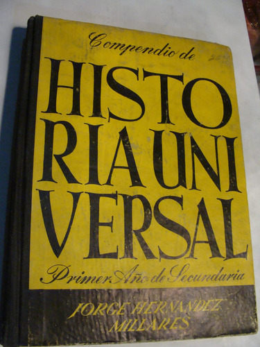 libro compendio historia universal , jorge hernandez  , 366