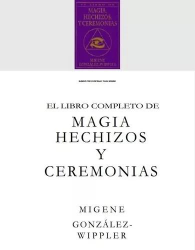 libro completo de magia hechizos y ceremonias pdf