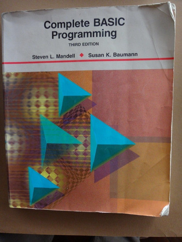 libro computacion complete basic programming mandell baumann