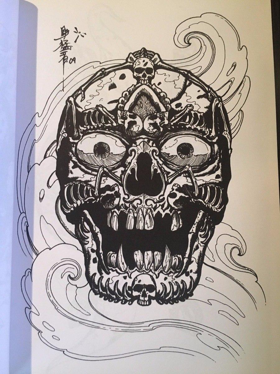 Libro Con Disenos Para Tatuar 50 Calaveras Tibetanas 54900 En