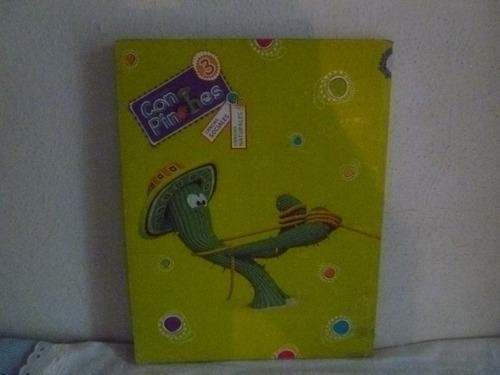 libro con pinches 3 c. sociales , c. naturales ed. mandioca
