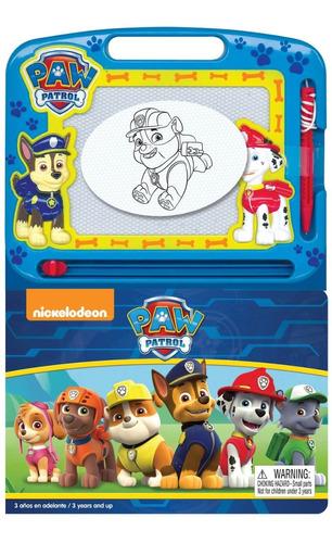 libro con pizarra magica paw patrol educando