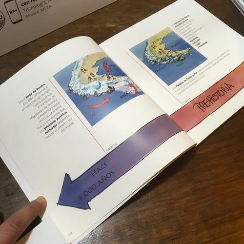 libro con realidad aumentada pueblos de fuego y mar