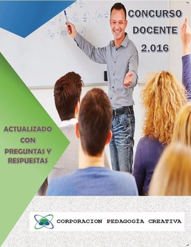 libro concurso docente 2016 (obsequios incluidos)