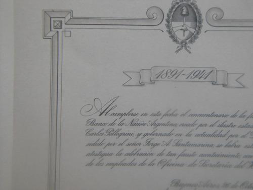 libro conmemorativo del banco nacion