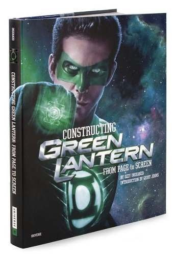 libro: constructing green lantern: from page to screen