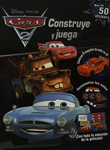 libro construye y juega: cars 2 - nuevo
