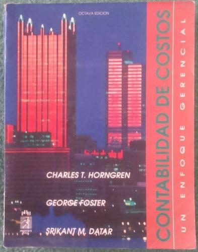 libro contabilidad de costos - horngren foster & datar