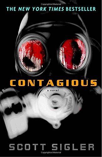 libro contagious: a novel - nuevo
