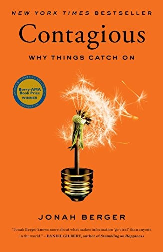 libro contagious: why things catch on - nuevo
