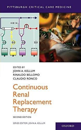 libro continuous renal replacement therapy - nuevo