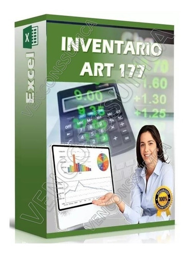 libro control de inventarios excel art177 ley islr r m